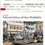 Stuttgarter-Zeitung-Fahrrad-Action_auf_dem_Marktplatz-20140413