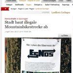 Stuttgarter-Zeitung-Stadt-baut-illegale-Mountainbikestrecke-ab-20140128