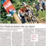 Stuttgarter Zeitung - Der Wald als Kulisse für den Sport